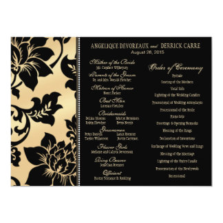 Arena del programa el | del boda de la torre invitación 16,5 x 22,2 cm