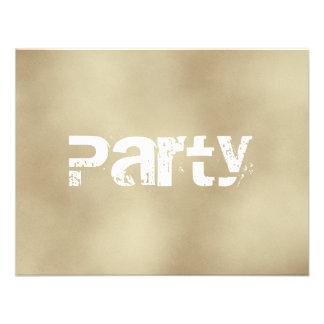 Arena invitaciones adolescentes del fiesta de los