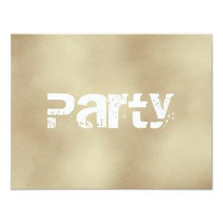Arena, invitaciones adolescentes del fiesta de los invitación 10,8 x 13,9 cm