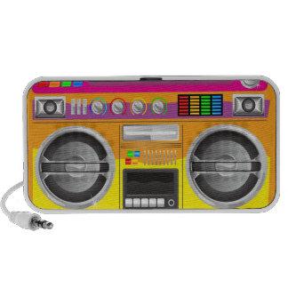 arenador brillante retro del ghetto del equipo est iPod altavoz