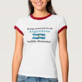 Argentina construye el carácter camisas