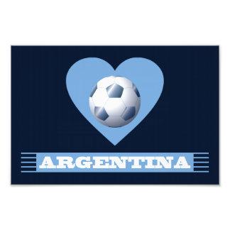 ARGENTINA Fútbol Corazón y Bufanda Brasil 2014 Foto