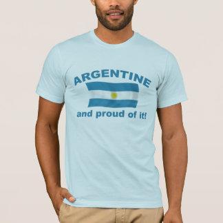 Argentina orgullosa camiseta