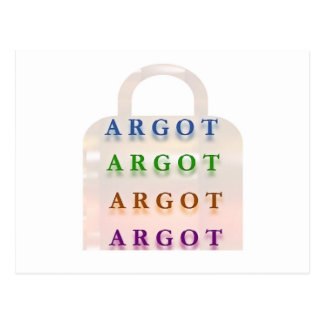 ARGOT:  Palabras francesas de la travesura Postal