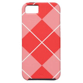 Argyle color de rosa y rosado iPhone 5 Case-Mate coberturas