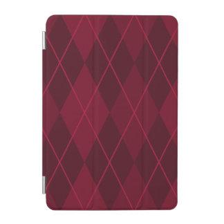 Argyle rojo cover de iPad mini