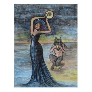Ariadne y Dionysus Postal