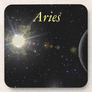 Aries brillante posavasos para bebidas