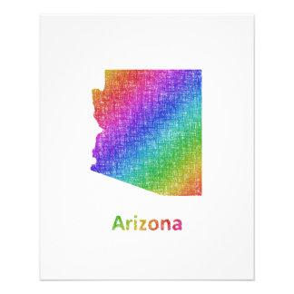Arizona Folleto 11,4 X 14,2 Cm