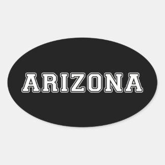 Arizona Pegatina Ovalada