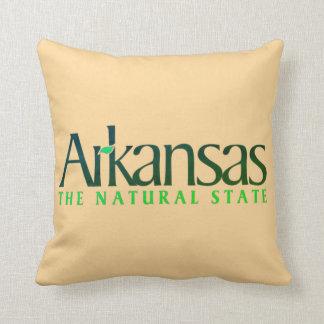 Arkansas el estado de la naturaleza cojín decorativo