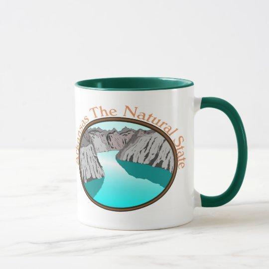 Arkansas el estado natural taza
