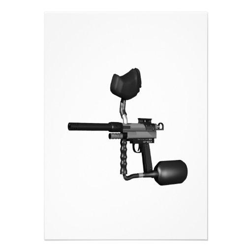 Arma 2 de Paintball Comunicado Personal
