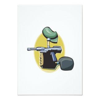 Arma 3 de Paintball Invitación 12,7 X 17,8 Cm