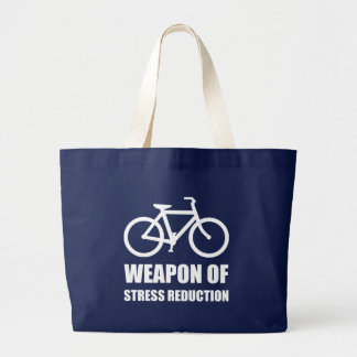Arma de Biking de la reducción del estrés Bolso De Tela Gigante