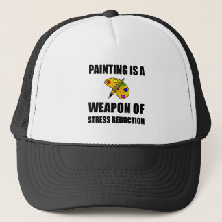Arma de la pintura de la reducción del estrés gorra de camionero