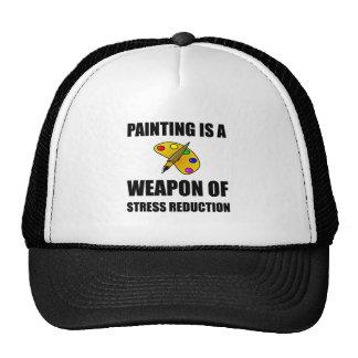 Arma de la pintura de la reducción del estrés gorros