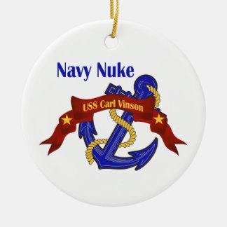 Arma nuclear USS Carl Vinson de la marina de Adorno Redondo De Cerámica