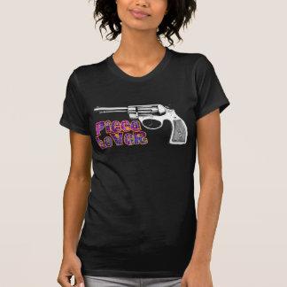 arma retro maravilloso del revólver del amante del camisetas