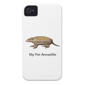 Armadillo del mascota Case-Mate iPhone 4 cárcasas