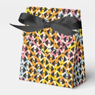 Armadura colorida contemporánea elegante de la caja para regalos