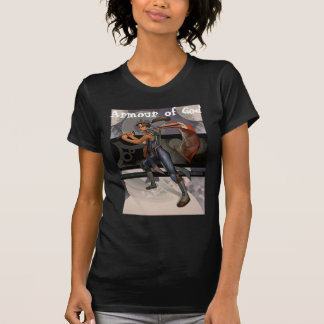Armadura de Dios-Femenino Camisetas