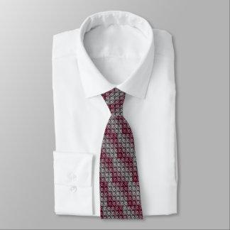 Armadura de la galleta del vino y de la plata corbata