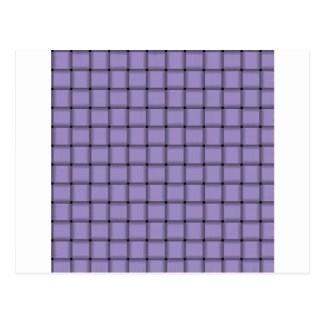 Armadura grande - púrpura en colores pastel ligera postal