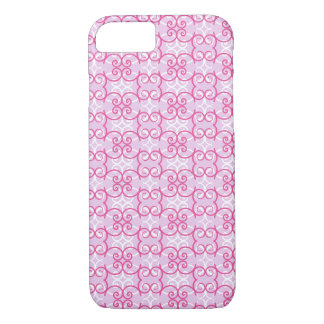 Armadura rizada rosada funda iPhone 7
