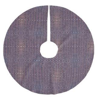 Armadura Titanium anodizada púrpura del metal del Falda Para El Árbol De Navidad