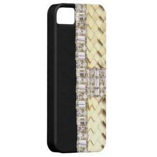 Armadura y caso metálicos elegantes de IPhone 5 Funda Para iPhone SE/5/5s