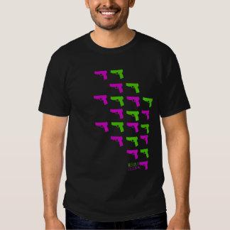Armas de la rebelión camisetas