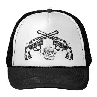 armas y rosas gorras de camionero
