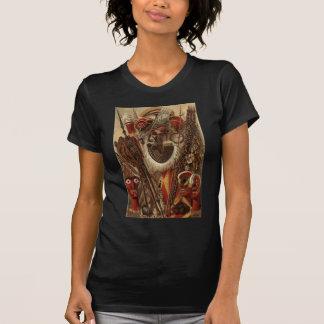Armas y traje polinesios camiseta