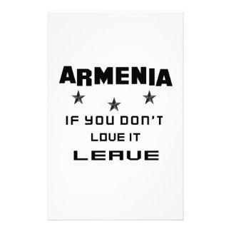 Armenia si usted no la ama, se va papeleria