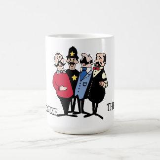 Armonía del cuarteto taza de café