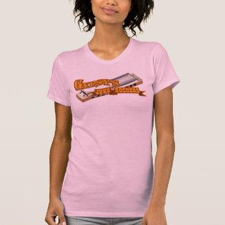 Armónica de los ejes de balancín de Juke del gitan Camisetas