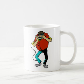 armónica taza de café