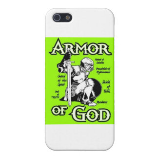 ArmorOfGod iPhone 5 Carcasas