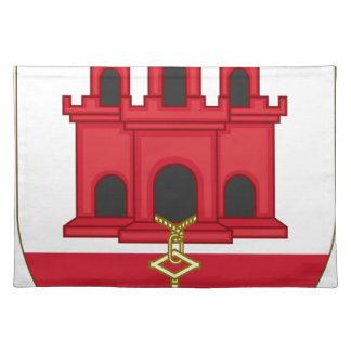 Arms_of_Gibraltar_ (variante) Salvamanteles