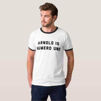 Arnold es levantamiento de pesas del Uno de Numero Camiseta