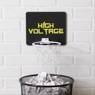 Aro de baloncesto de alto voltaje