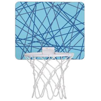 Aro de baloncesto retro del azul 90s