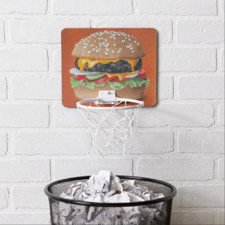 Aro del ejemplo de la hamburguesa mini