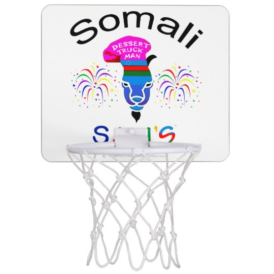 Aro somalí del Mini-Baloncesto de Sam