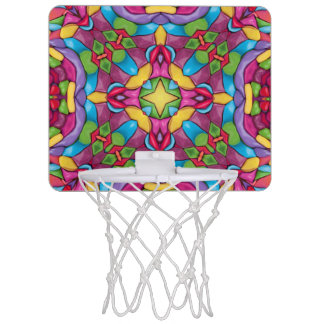 Aros de baloncesto del minero de oro mini