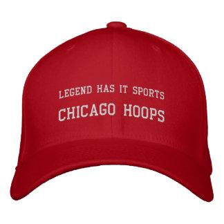 Aros de Chicago Gorra Bordada