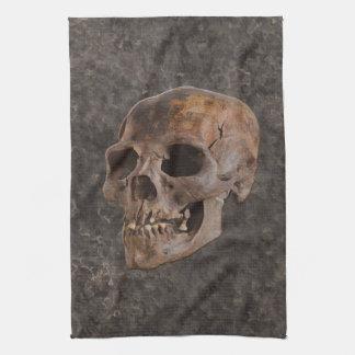 Arqueología II - Cráneo en fondo del Piedra-efecto Toalla