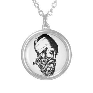 Arquímedes Collar Plateado
