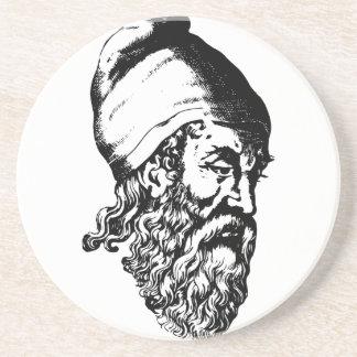 Arquímedes Posavasos De Arenisca